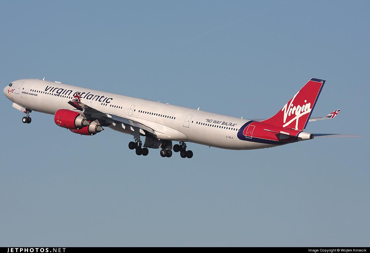 G-VBLU - Airbus A340-642 - Virgin Atlantic Airways
