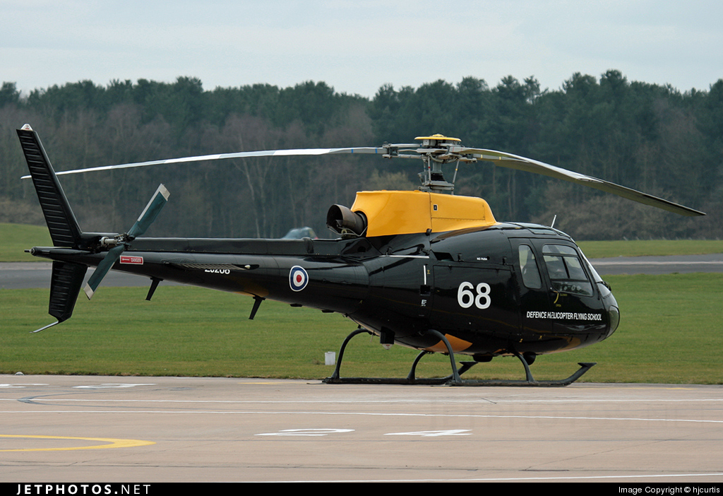 ZJ268 - Aérospatiale Squirrel HT.1 - United Kingdom - Defence Helicopter Flying School