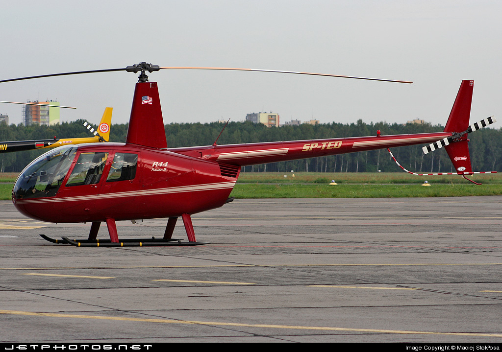 SP-TED - Robinson R44 Raven II - Private