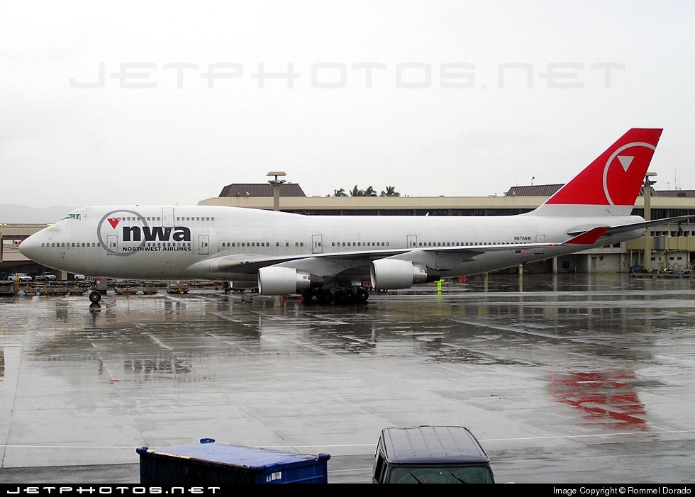 N676NW - Boeing 747-451 - Northwest Airlines