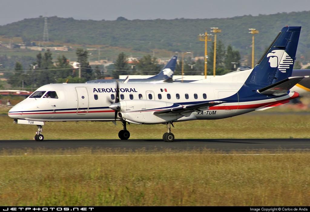 XA-TUM - Saab 340B - Aerolitoral