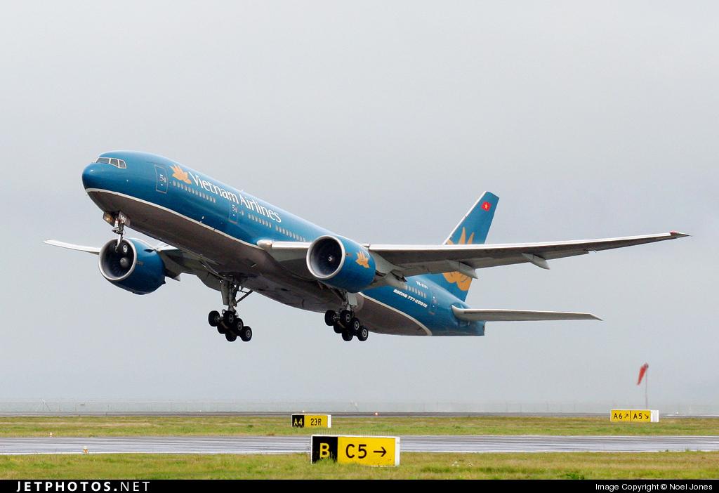 VN-A141 - Boeing 777-2Q8(ER) - Vietnam Airlines