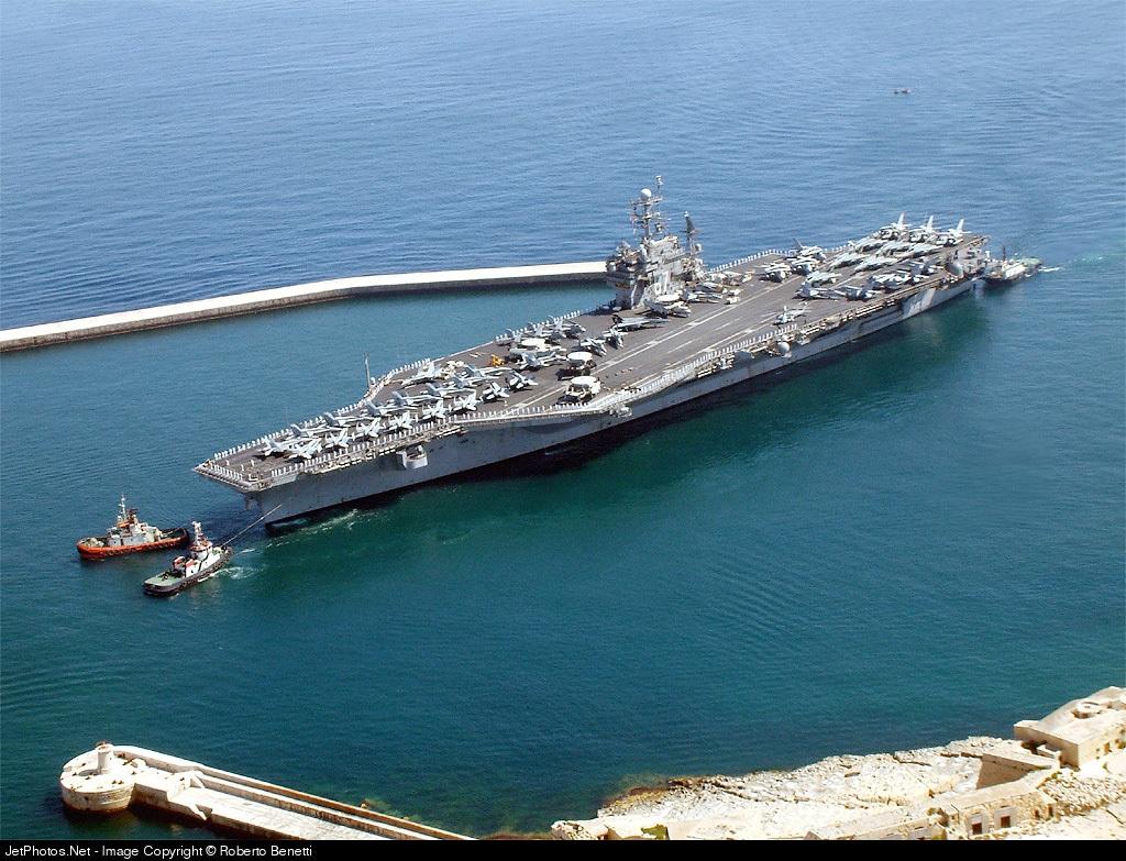 cv 67 aircraft carrier airport overview roberto benetti
