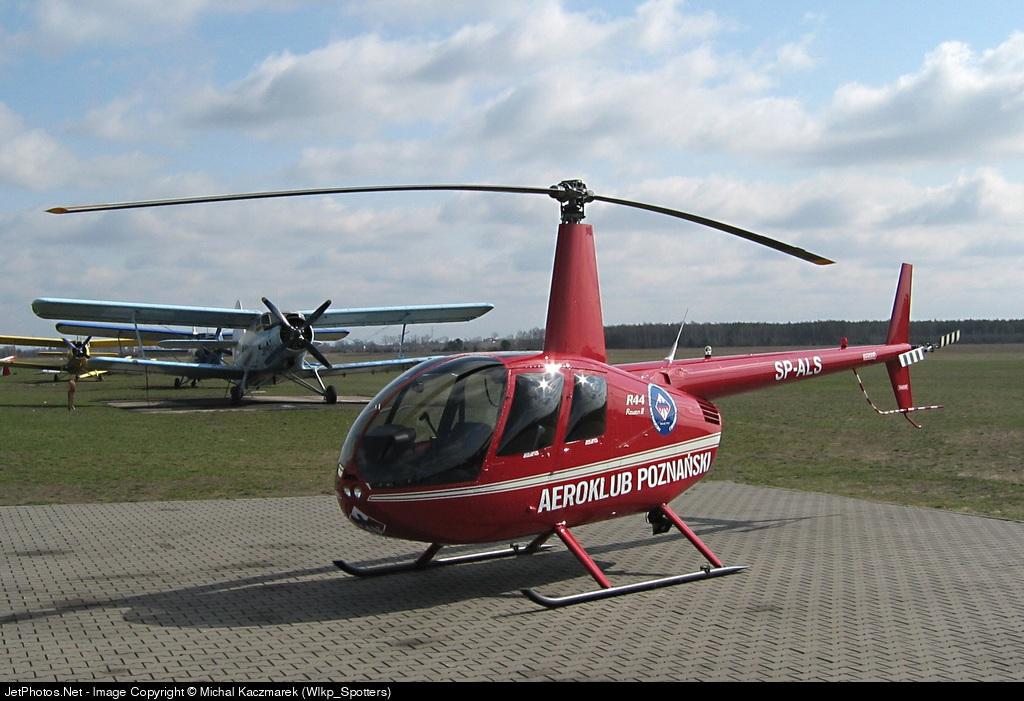 SP-ALS - Robinson R44 Raven II - Aero Club - Poznanski