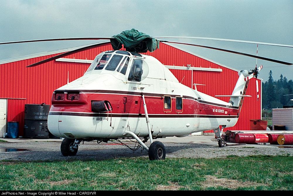C-GUSD - Sikorsky HSS-1 Seabat - MF Air Services