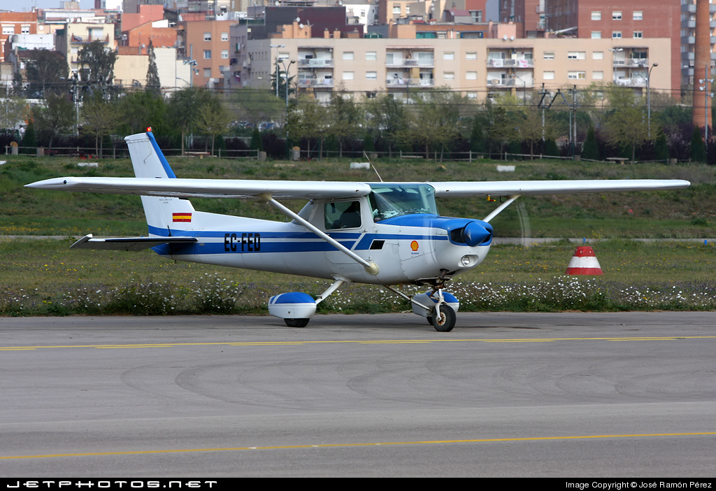 EC-FED - Cessna 152 - Aero Club - Lleida