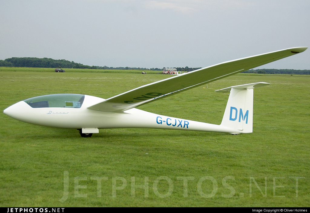 G-CJXR - Schempp-Hirth Discus B - Private