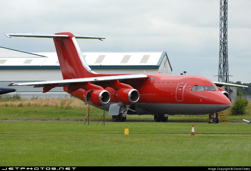 G-JEAJ - British Aerospace BAe 146-200(QT) - British Aerospace