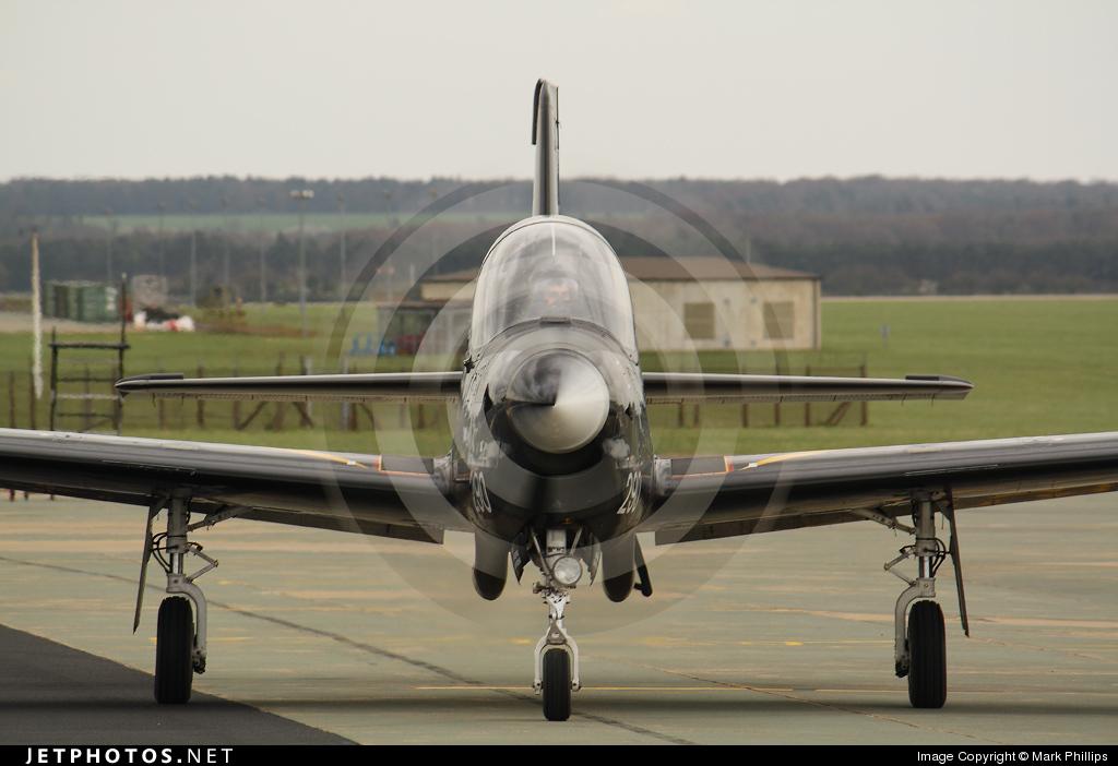 ZF290 - Short Tucano T.1 - United Kingdom - Royal Air Force (RAF)