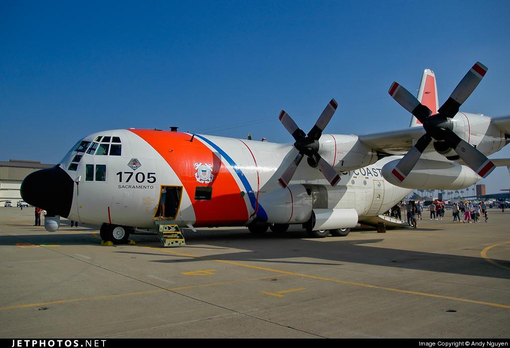 1705 - Lockheed HC-130H Hercules - United States - US Coast Guard (USCG)