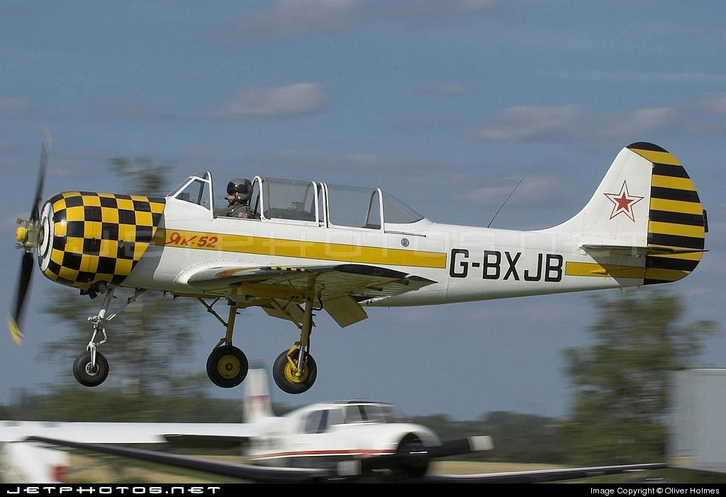 G-BXJB - Yakovlev Yak-52 - Private