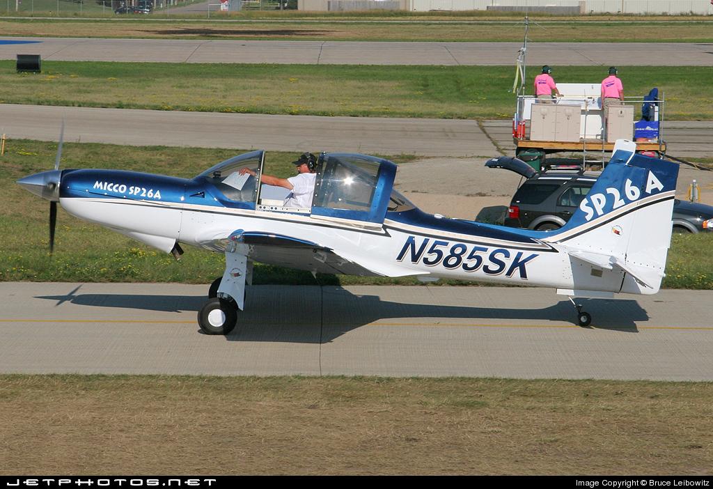 N585SK - LanShe Aerospace MAC-145B - Private