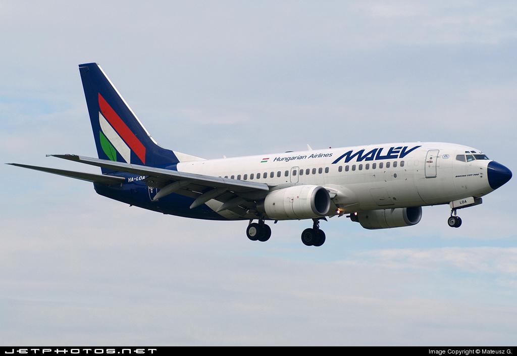 HA-LOA - Boeing 737-7Q8 - Malév Hungarian Airlines