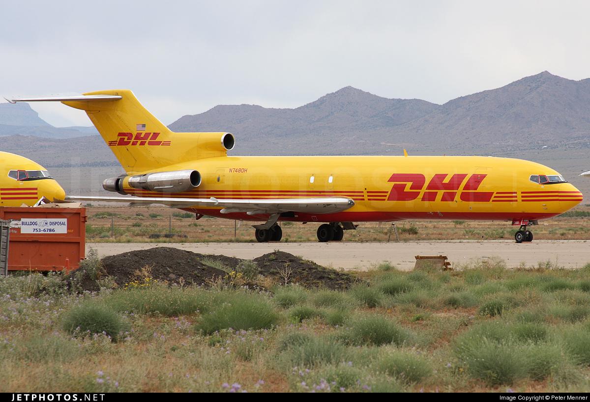N748DH - Boeing 727-225(Adv)(F) - DHL (ASTAR Air Cargo)