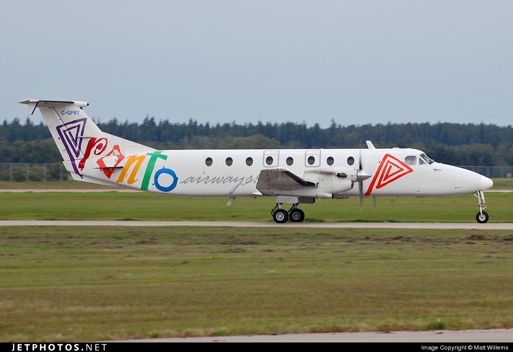 C-GPRT - Beechcraft 1900C - Pronto Airways