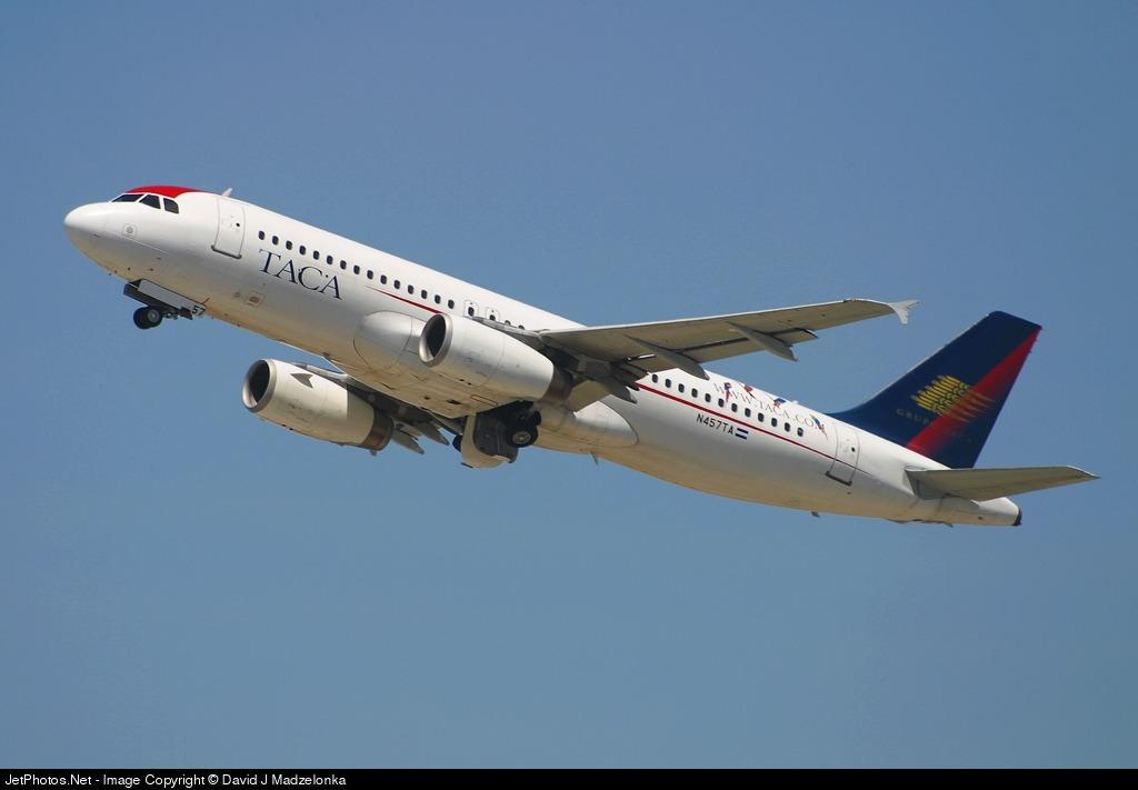 N457TA - Airbus A320-233 - TACA International Airlines
