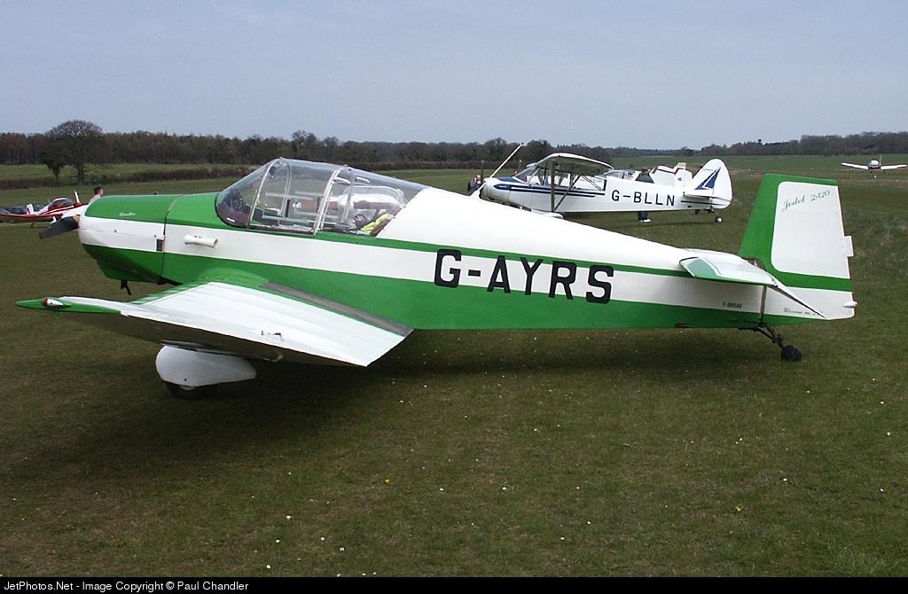 G-AYRS - Jodel D120A Paris-Nice - Private