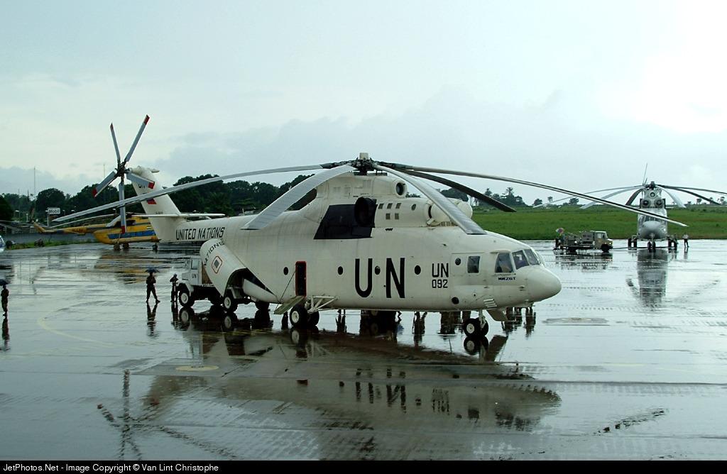 UN-092 - Mil Mi-26T Halo - United Nations (UN)