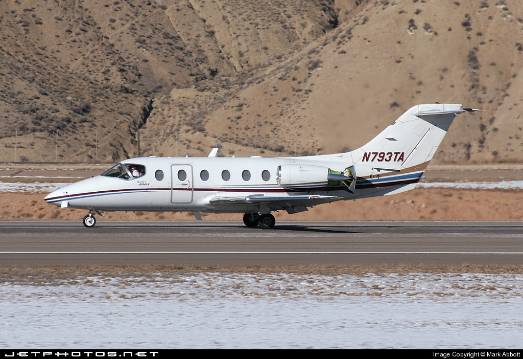N793TA - Beechcraft 400A Beechjet - Flight Options
