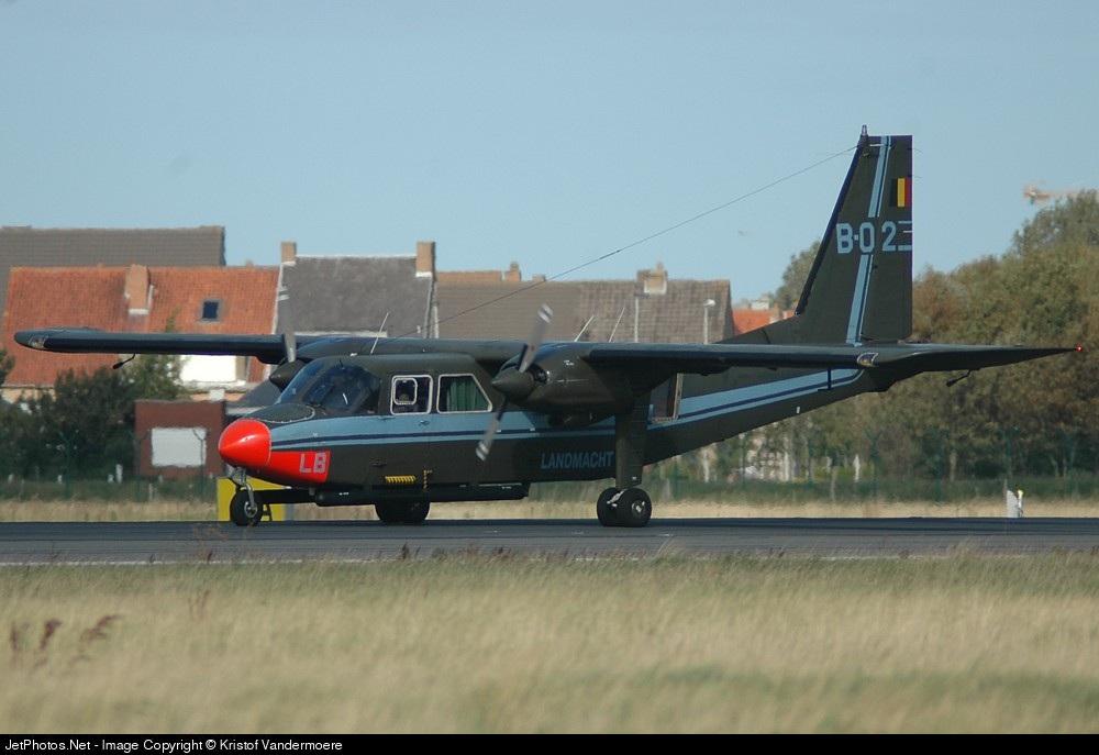 B-02 - Britten-Norman BN-2A-21 Islander - Belgium - Army
