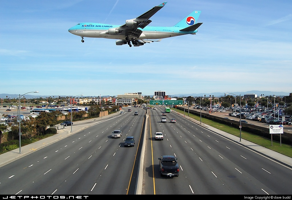 HL7448 - Boeing 747-4B5F(SCD) - Korean Air Cargo