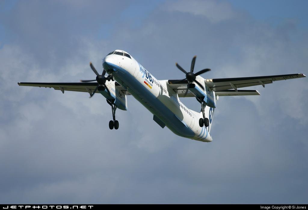 G-JEDJ - Bombardier Dash 8-Q402 - Flybe