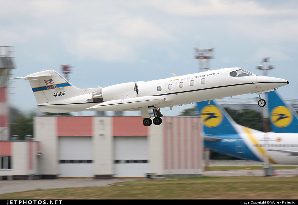 84-0109 - Gates Learjet C-21A - United States - US Air Force (USAF)