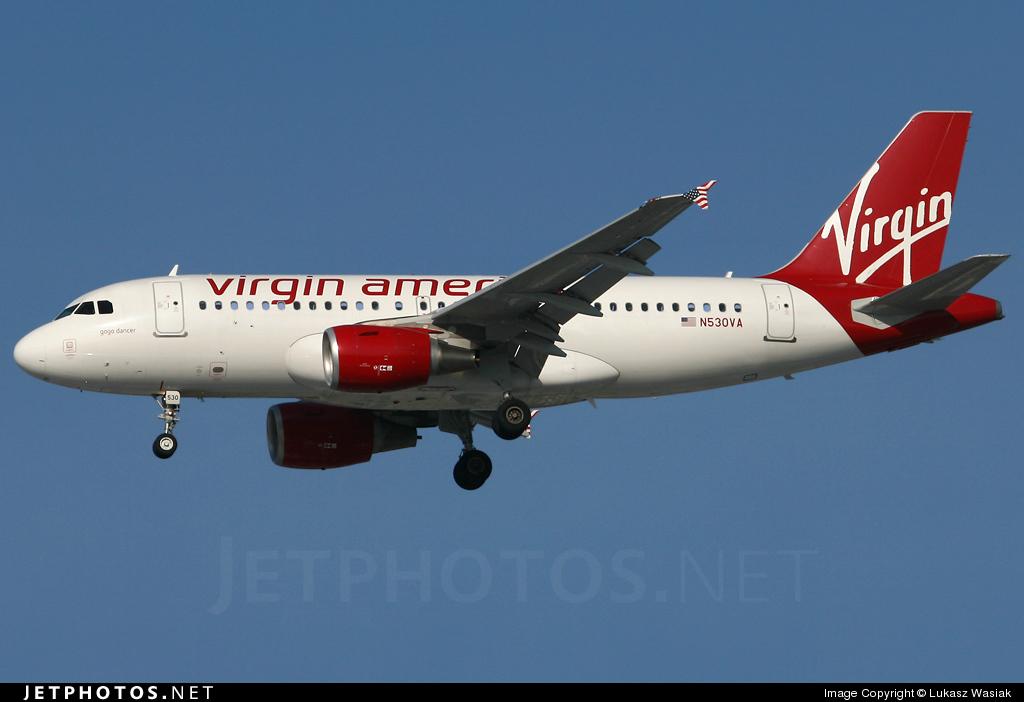 N530VA - Airbus A319-112 - Virgin America