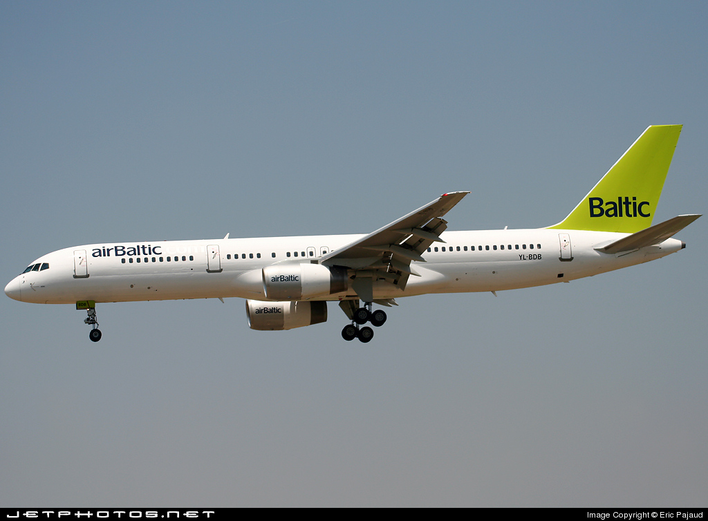 YL-BDB - Boeing 757-256 - Air Baltic