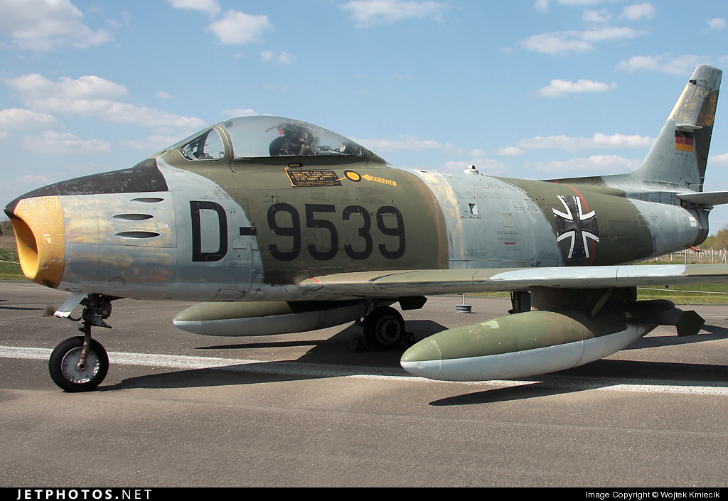 D-9539 - Canadair CL-13B-6 Sabre - Germany - Air Force
