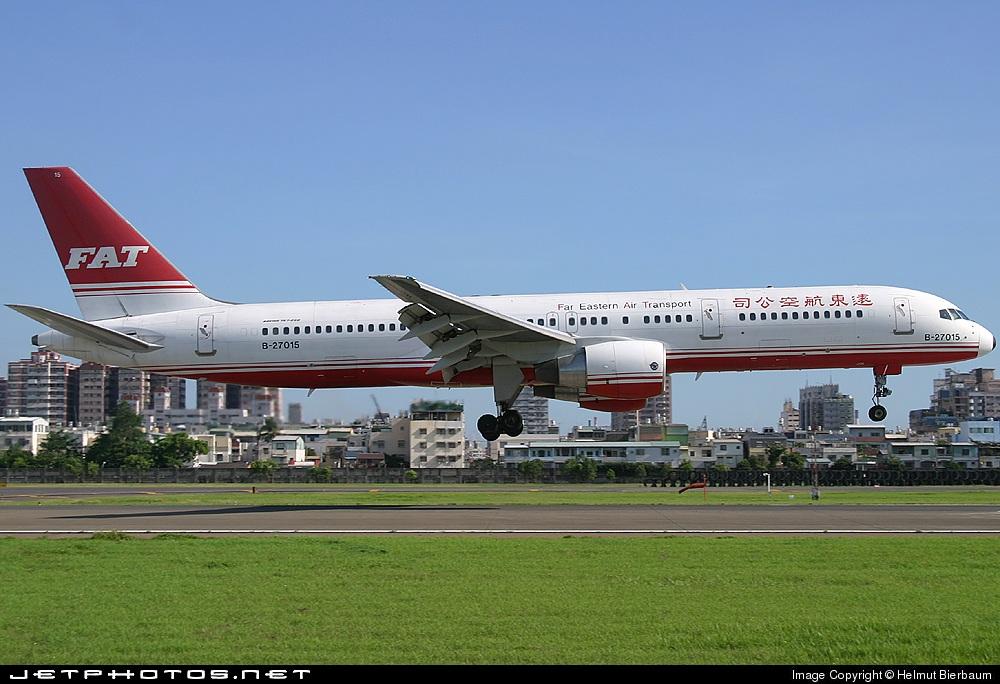 B-27015 - Boeing 757-27A - Far Eastern Air Transport (FAT)