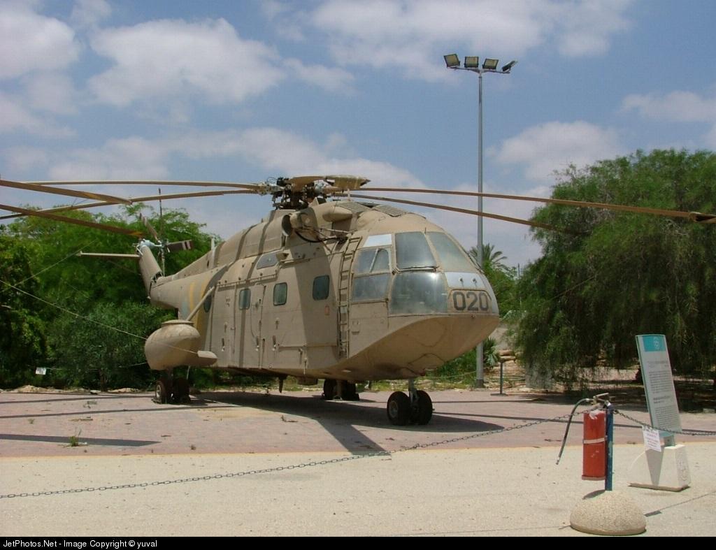020 - Aérospatiale AS 321 Super Ferlon - Israel - Air Force