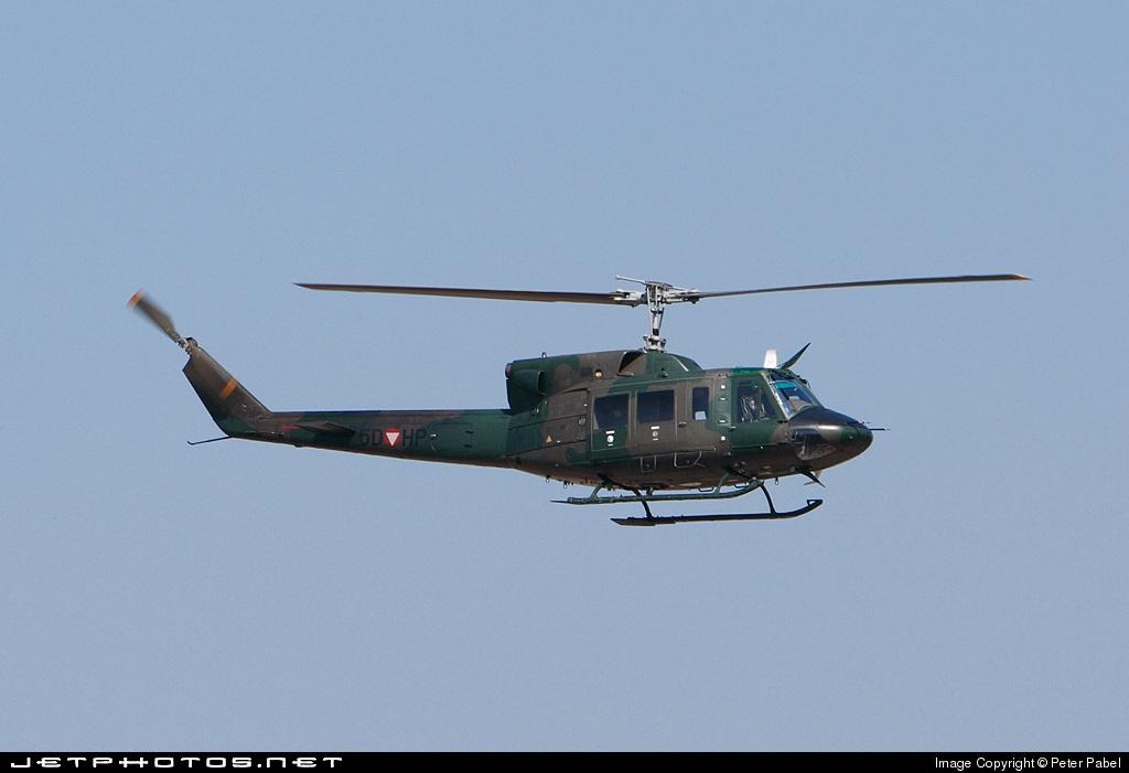 5D-HP - Agusta-Bell AB-212AM - Austria - Air Force