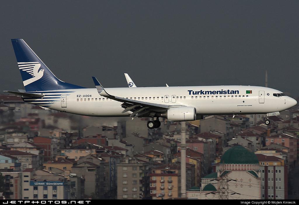 EZ-A004 - Boeing 737-82K - Turkmenistan Airlines
