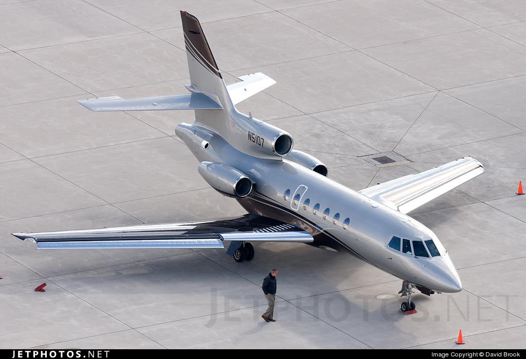 N5107 - Dassault Falcon 50 - Private