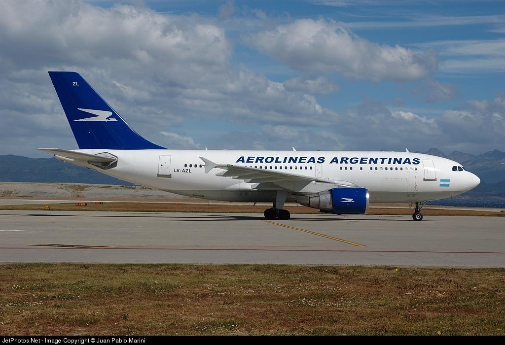 LV-AZL - Airbus A310-324(ET) - Aerolíneas Argentinas