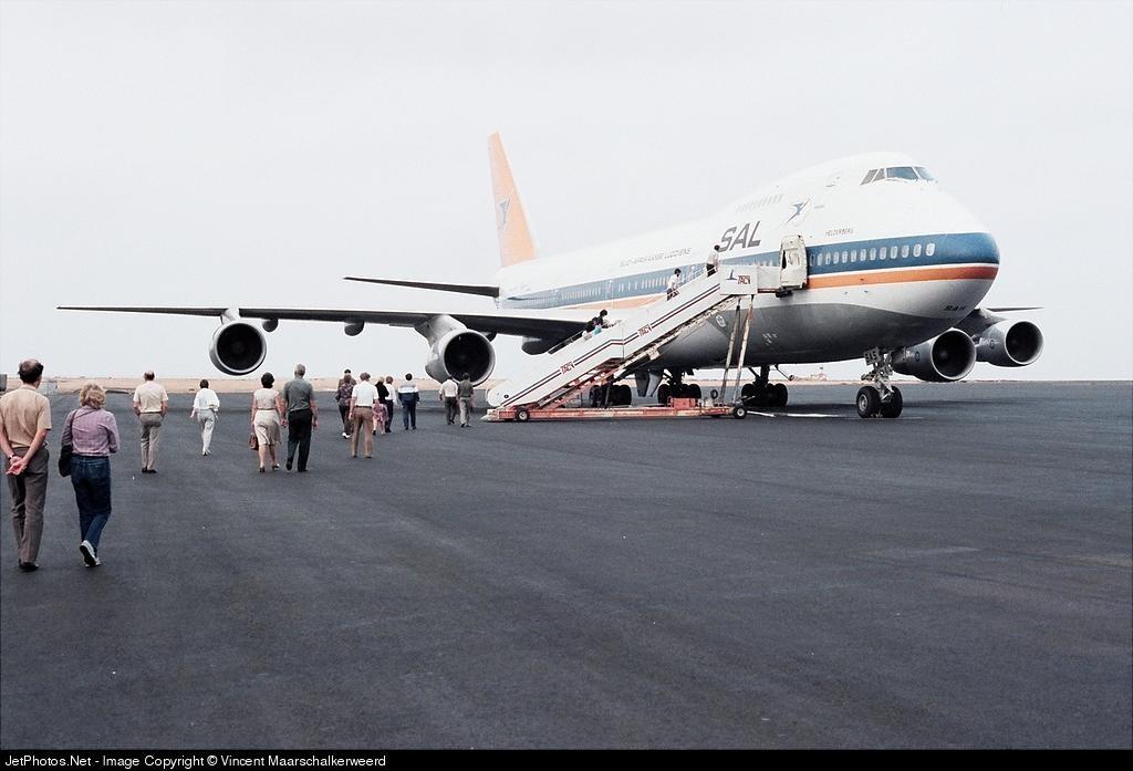 ZS-SAS - Boeing 747-244B(M) - South African Airways
