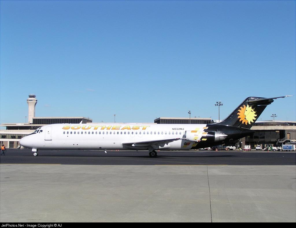 N932MJ - McDonnell Douglas DC-9-31 - Southeast Airlines