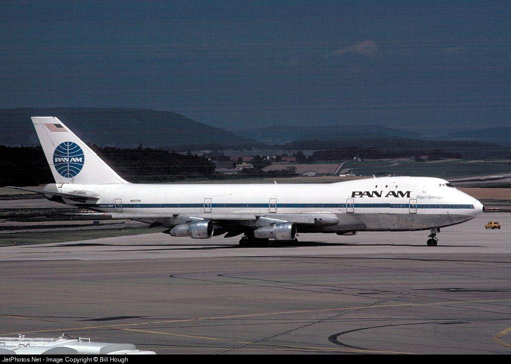 N657PA - Boeing 747-121 - Pan Am