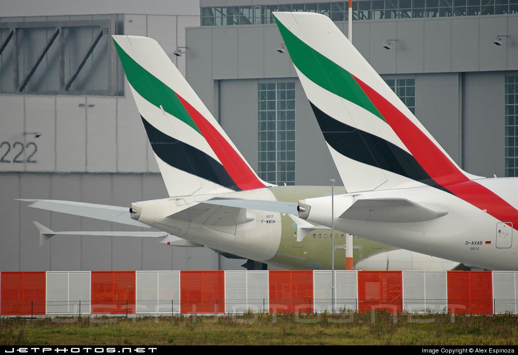 D-AXAB - Airbus A380-861 - Emirates