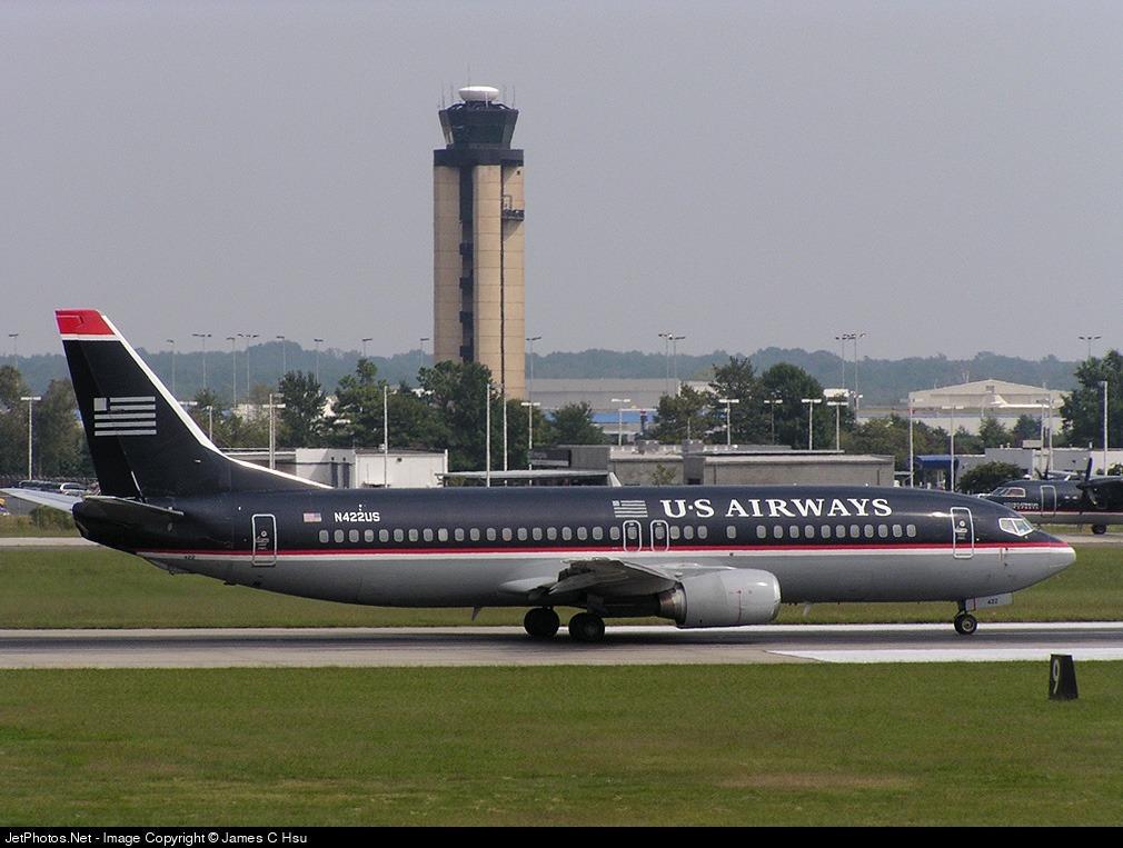 N422US - Boeing 737-401 - US Airways