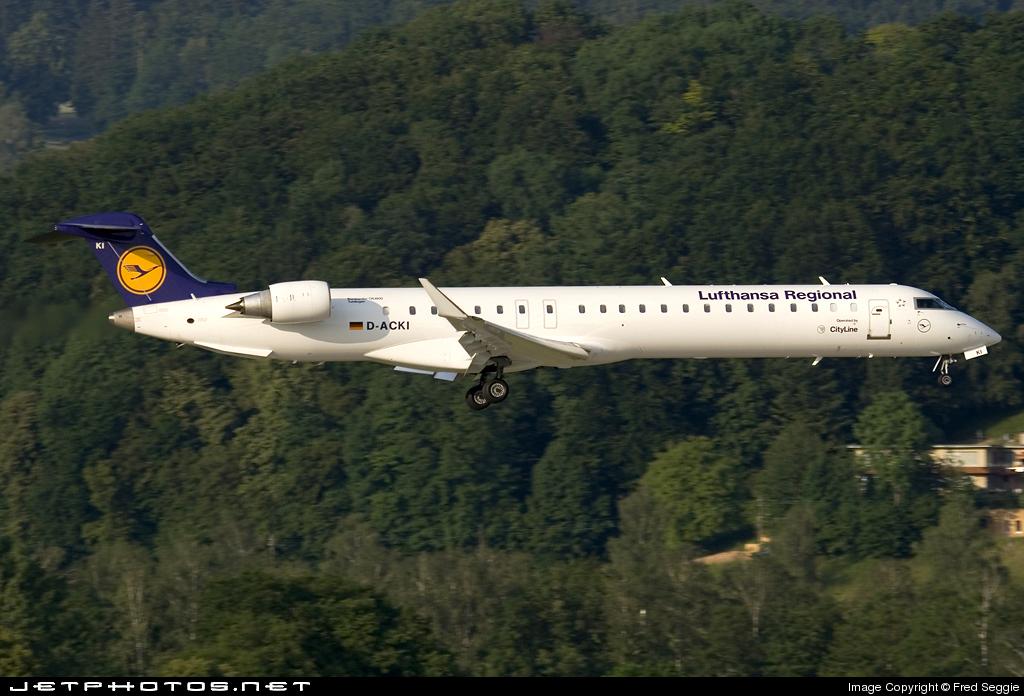 D-ACKI - Bombardier CRJ-900ER - Lufthansa Regional (CityLine)