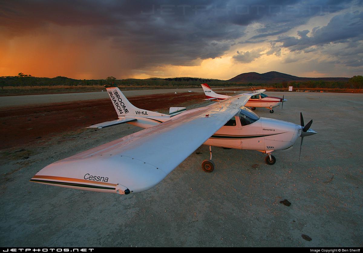 VH-KJL - Cessna 210L Centurion II - Broome Aviation