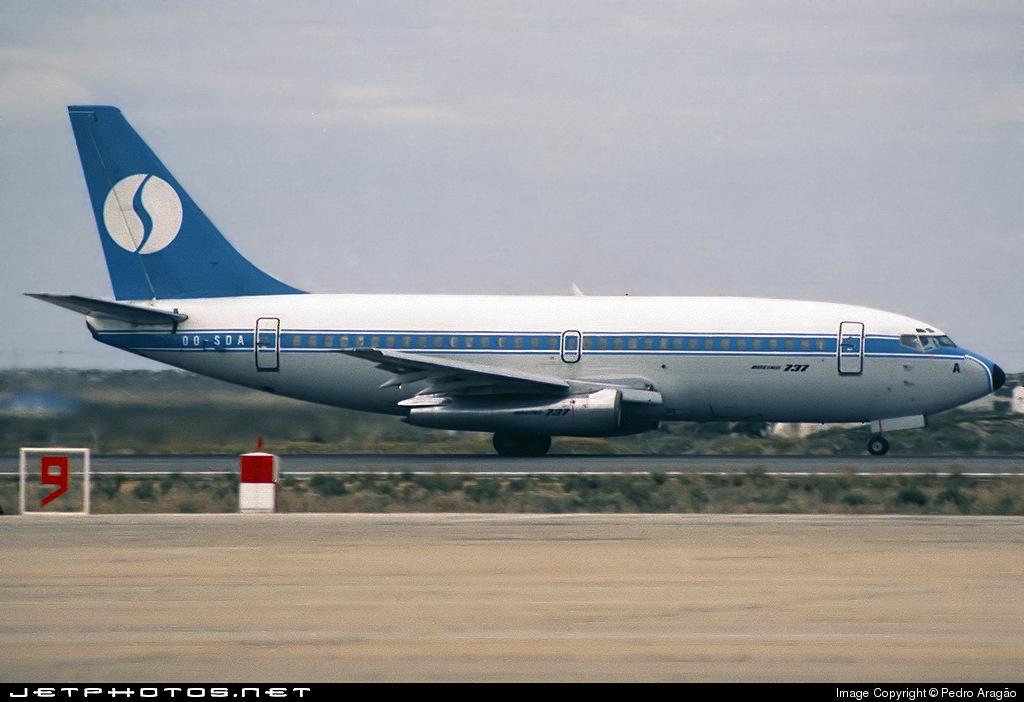 OO-SDA - Boeing 737-229(Adv) - Sobelair