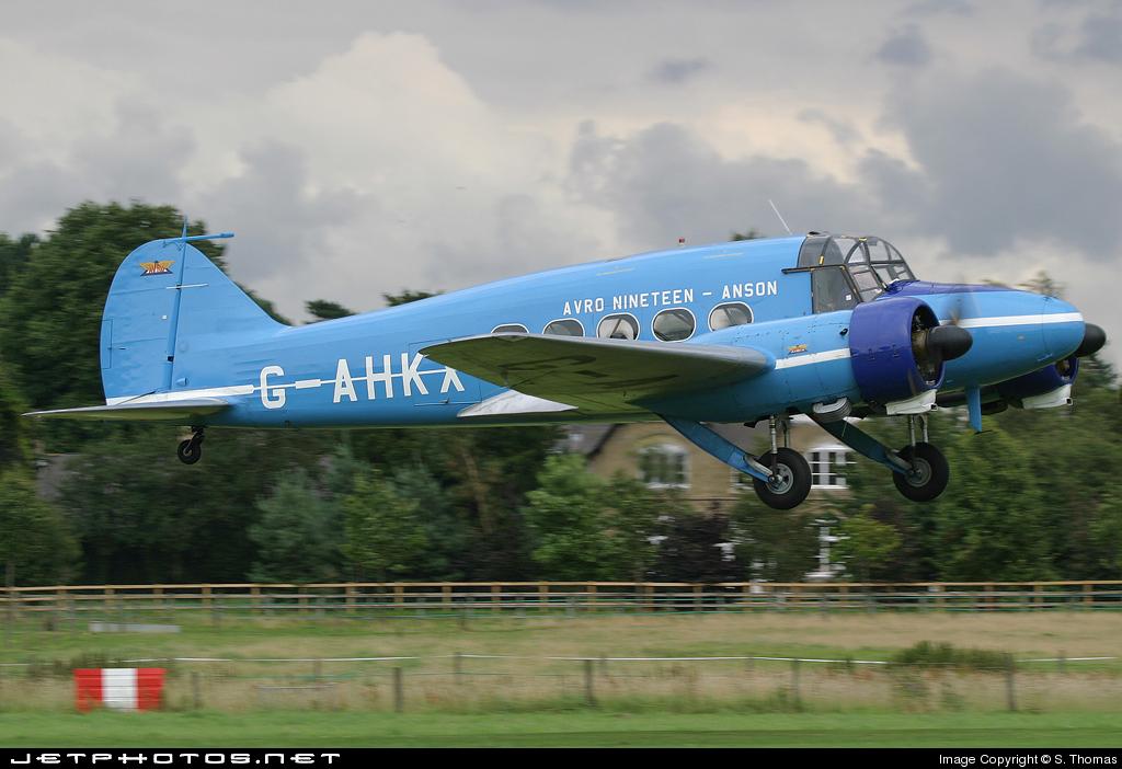 G-AHKX - Avro Anson C.19 - Private