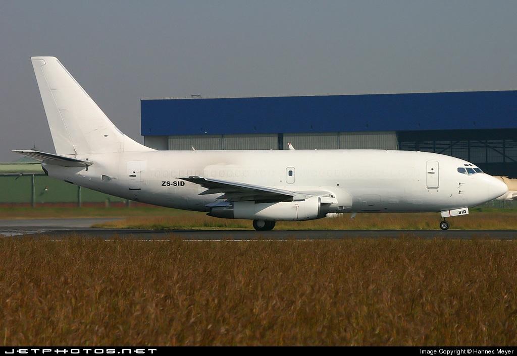 ZS-SID - Boeing 737-244(Adv)(F) - Safair