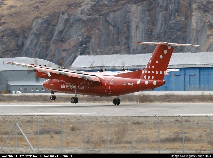 OY-GRD - De Havilland Canada DHC-7-103 Dash 7 - Air Greenland