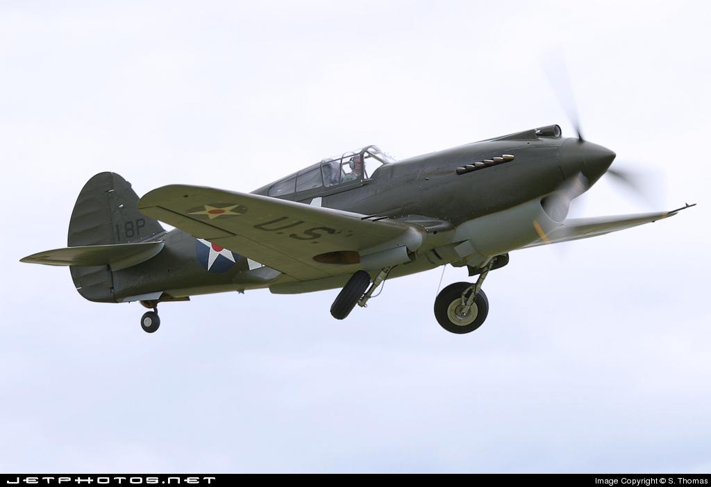 G-CDWH - Curtiss P-40B Warhawk - Private