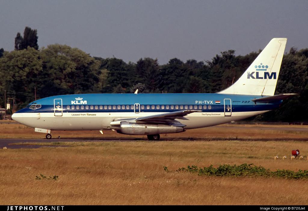 PH-TVX - Boeing 737-2T5(Adv) - KLM Royal Dutch Airlines (Transavia Airlines)