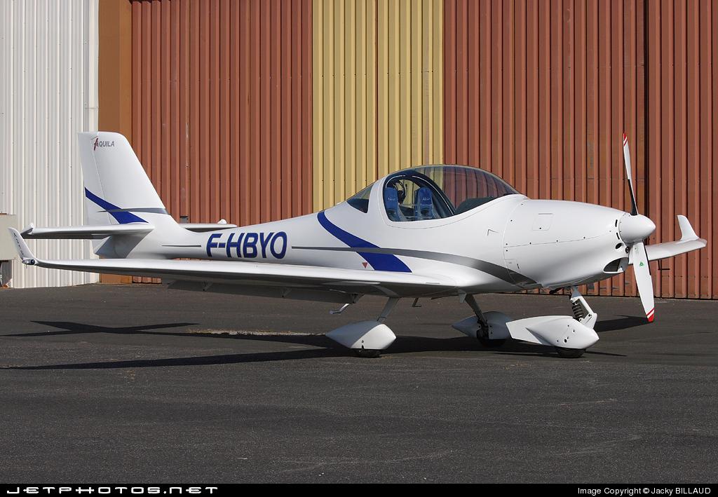 F-HBYO - Aquila AT01 - Private
